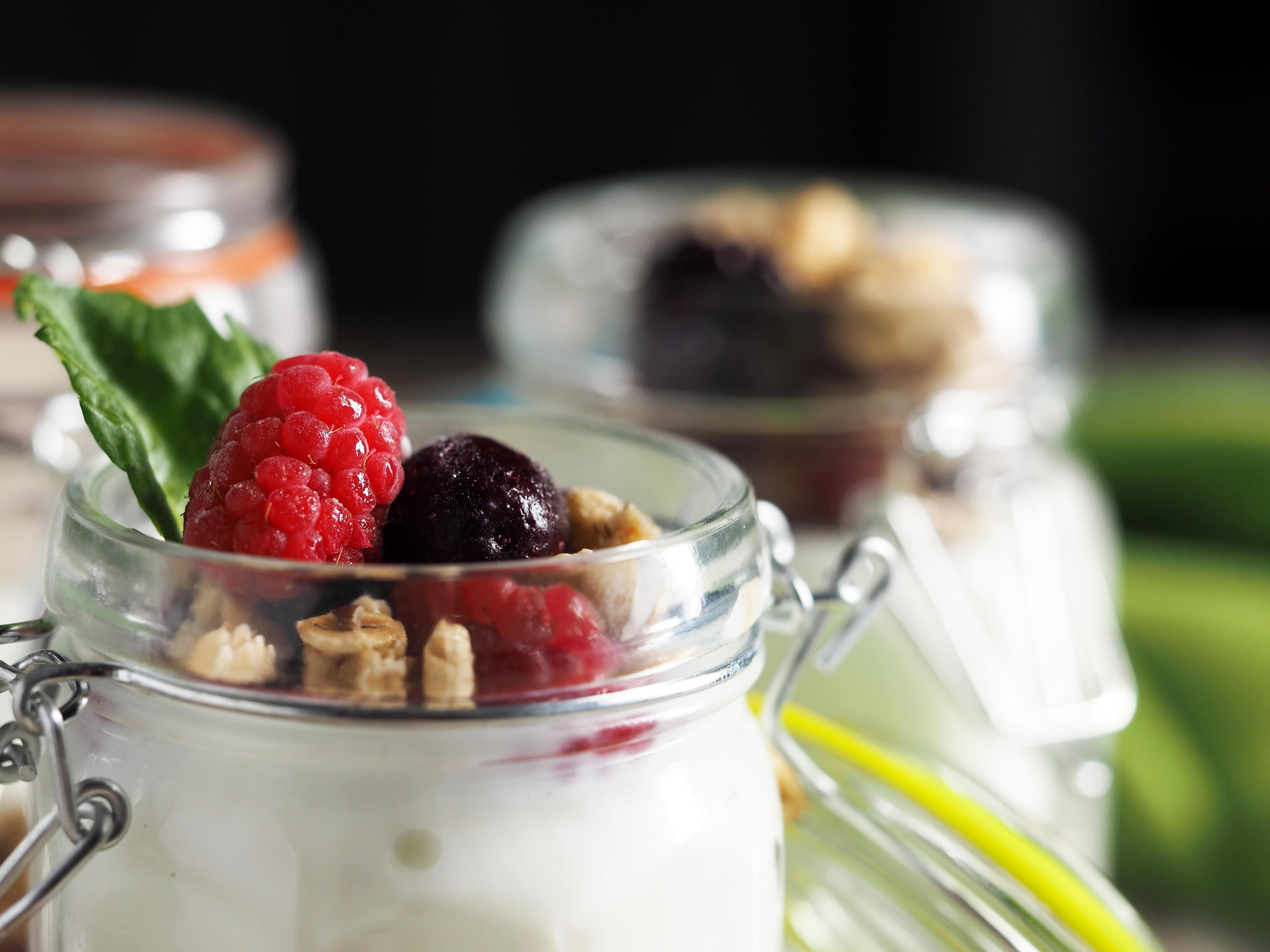Free Picture Food Dessert Fruit Cream Berry Sweet