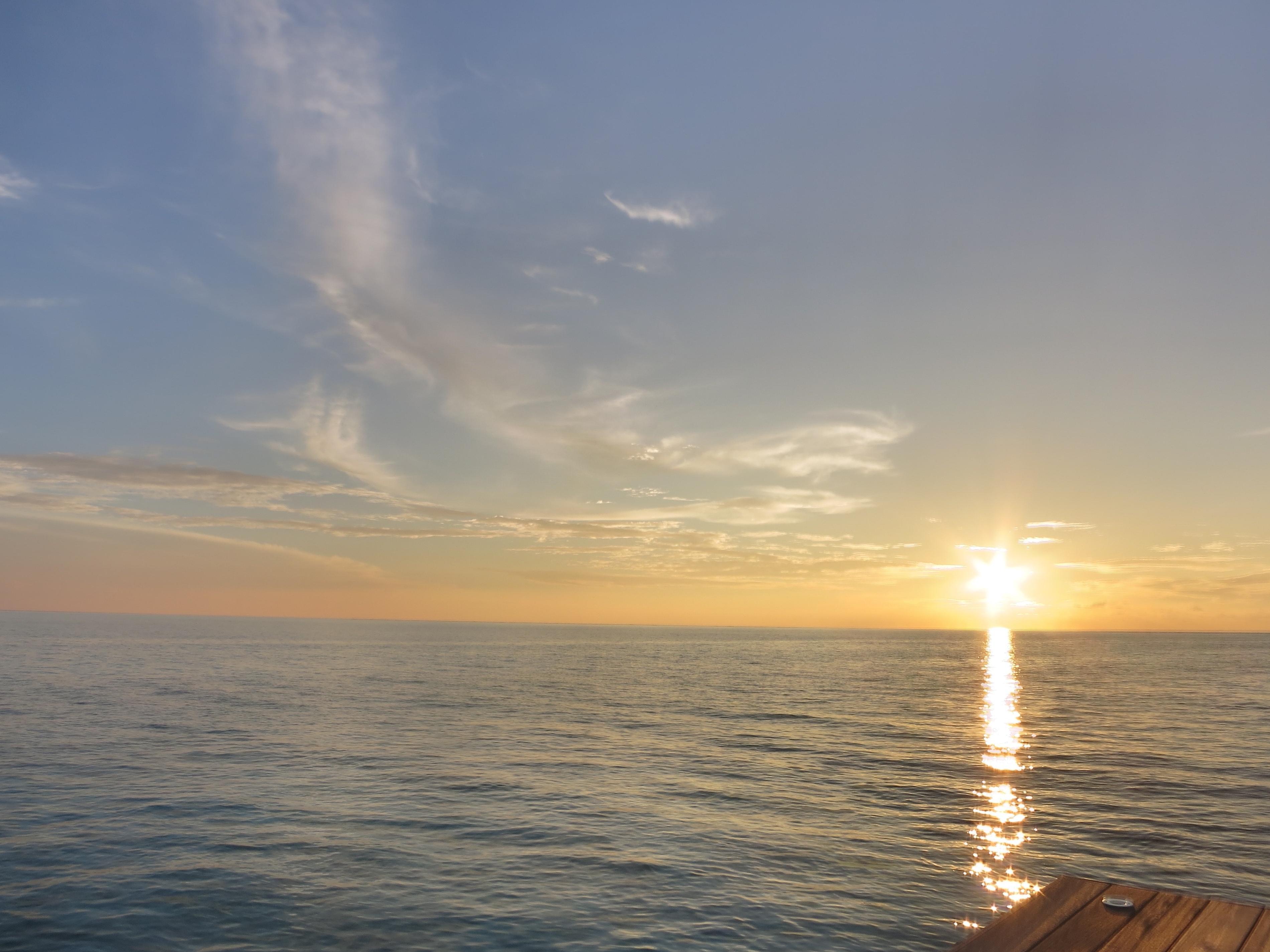Free Picture Sunset Sun Water Dawn Sea Ocean Beach