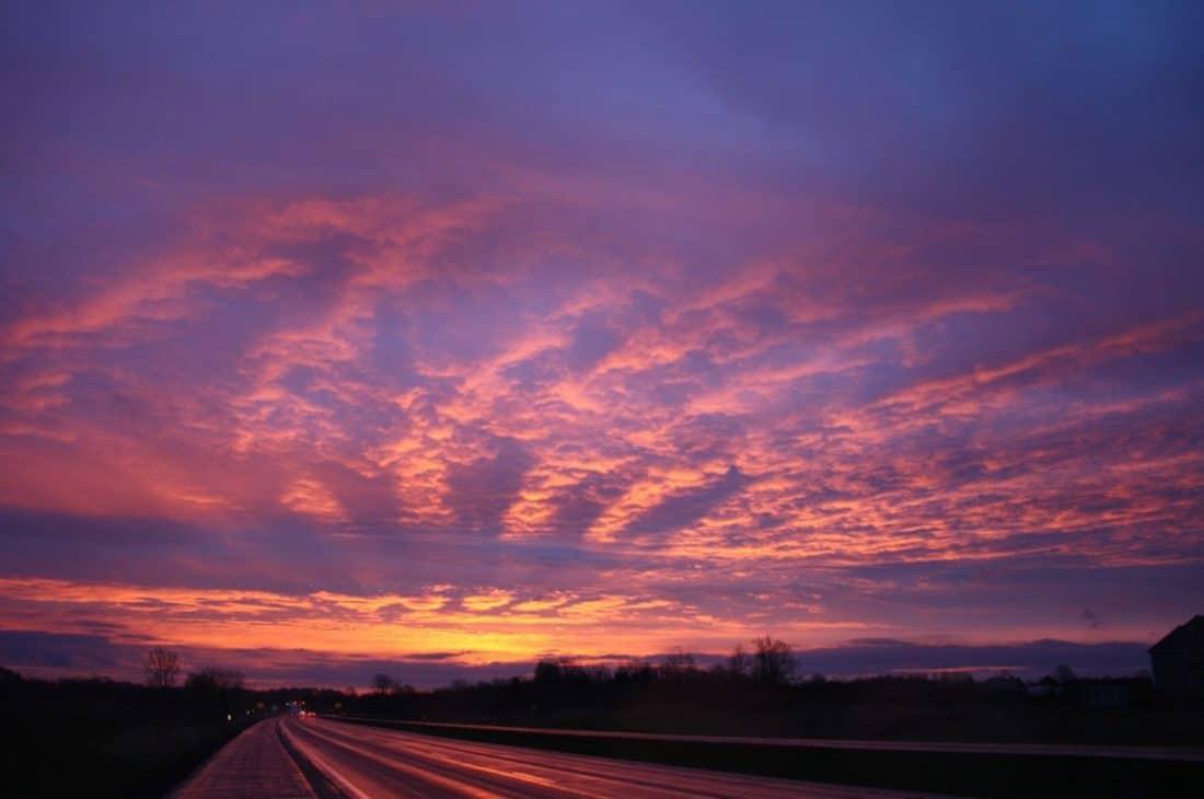 Free Picture Sunrise Silhouette Nature Sky Dusk Dawn