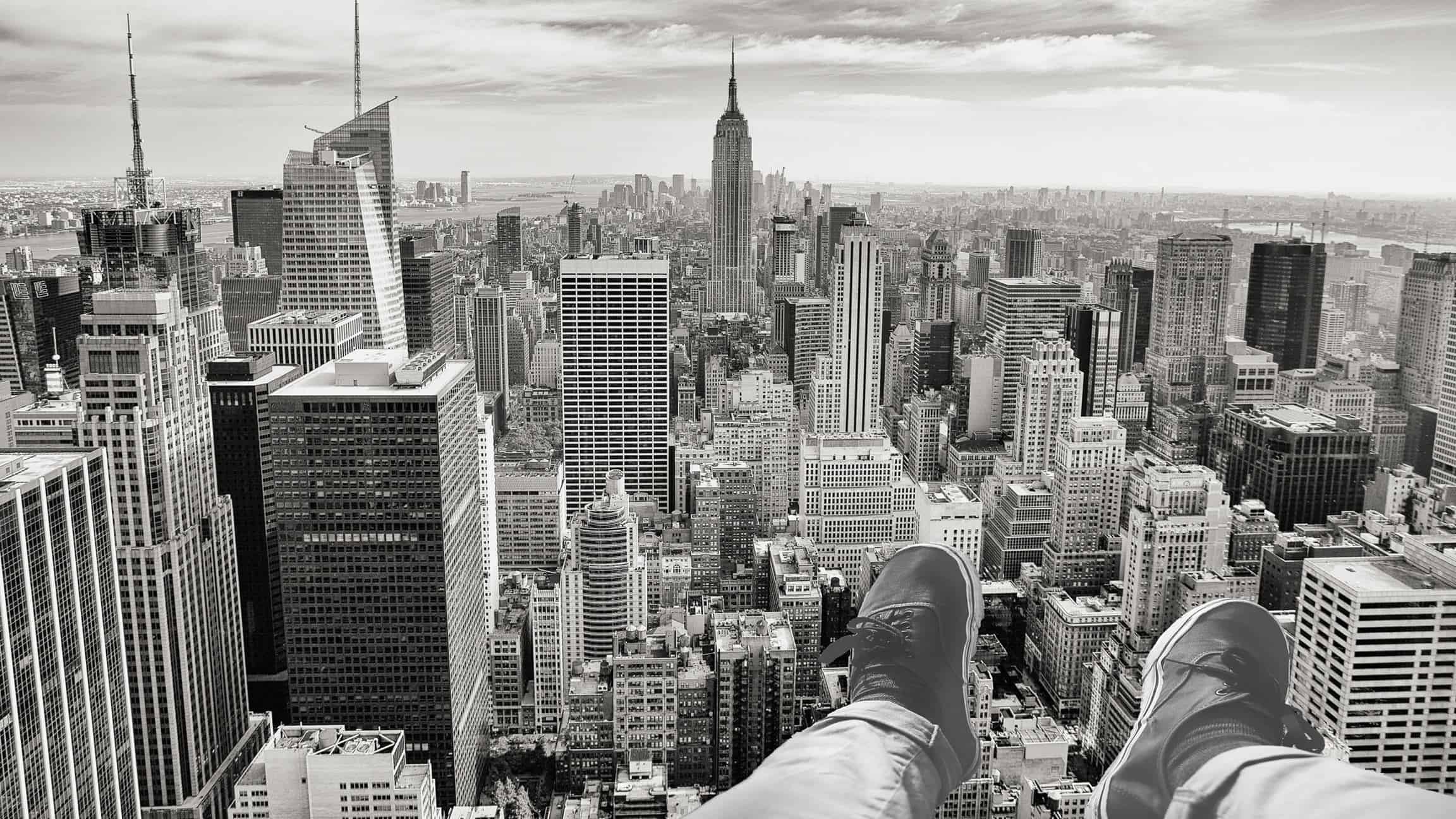 Free Picture Photomontage Monochrome Shoe City