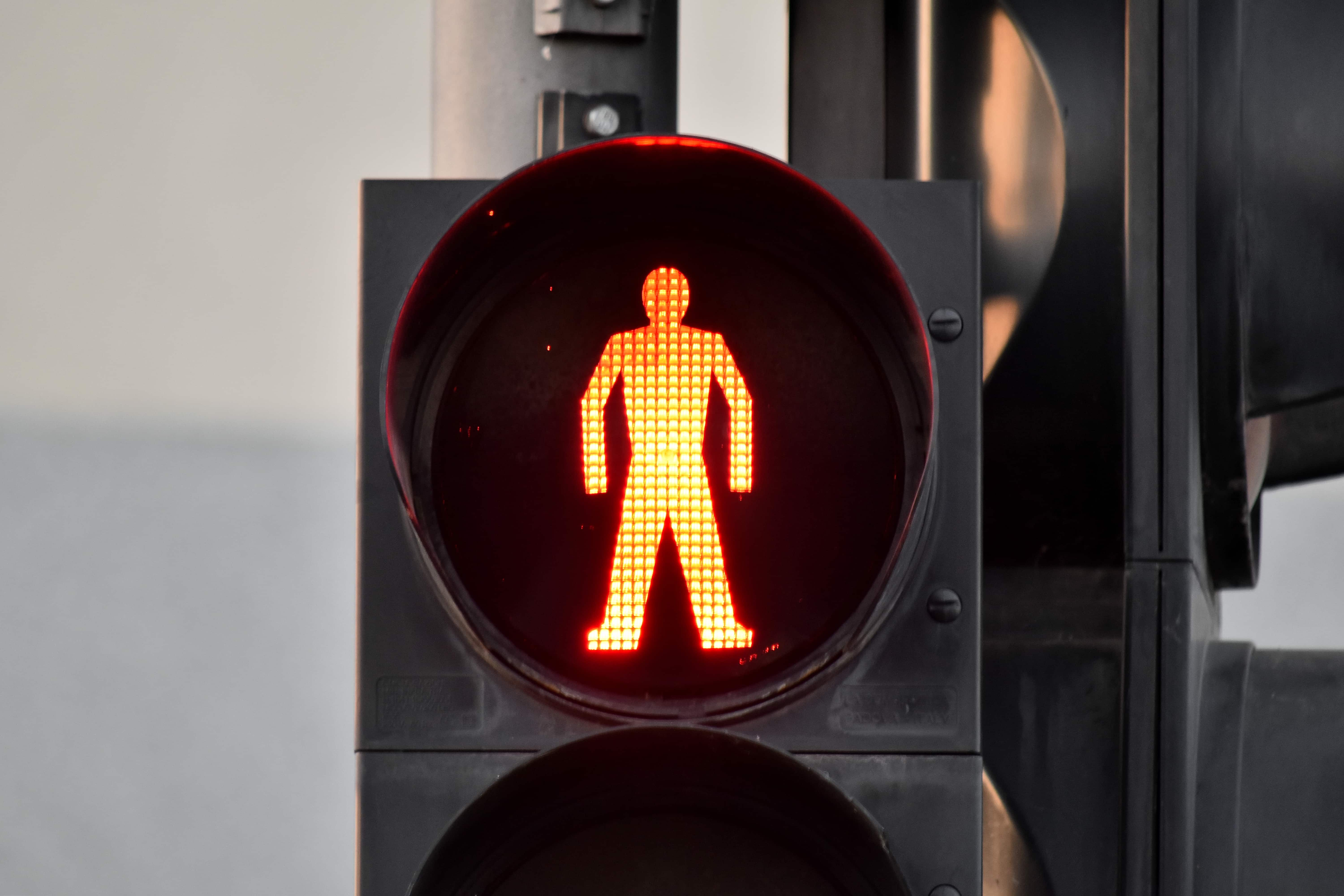 Free Picture Electricity Red Light Traffic Control