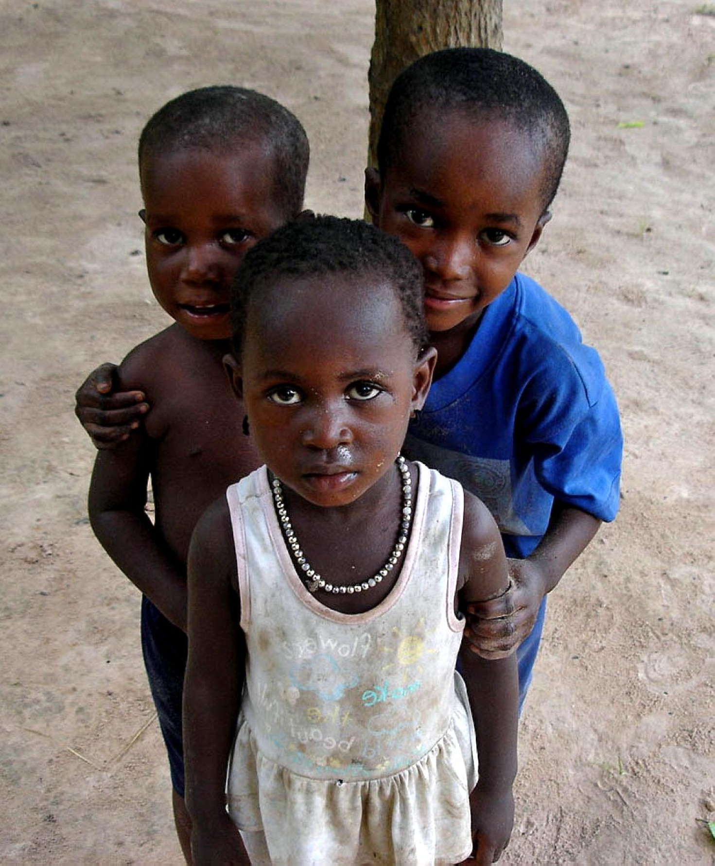 Free Picture Young African Children Portraits