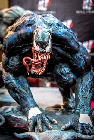 Venom -- as he should be portrayed! Unlike that Topher Grace wimp in the pathetic Spider-Man 3 movie