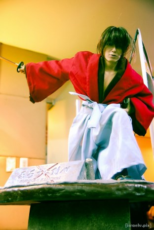 Rurouni Kenshin -- loved the anime, loved the live-action movie!