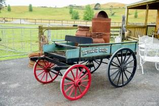 Vintage Milk Carriage