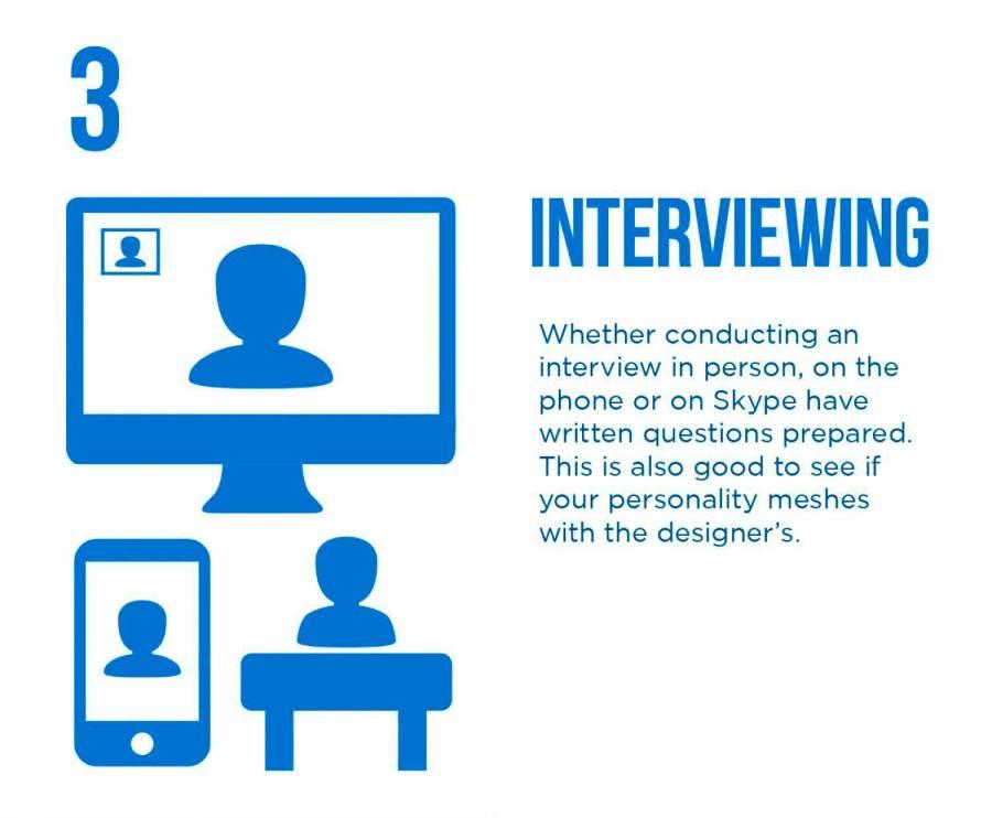 PixoLabo - Hiring a Web Designer - Interviewing