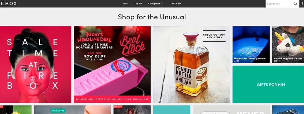 PixoLabo - E-Commerce Home Page