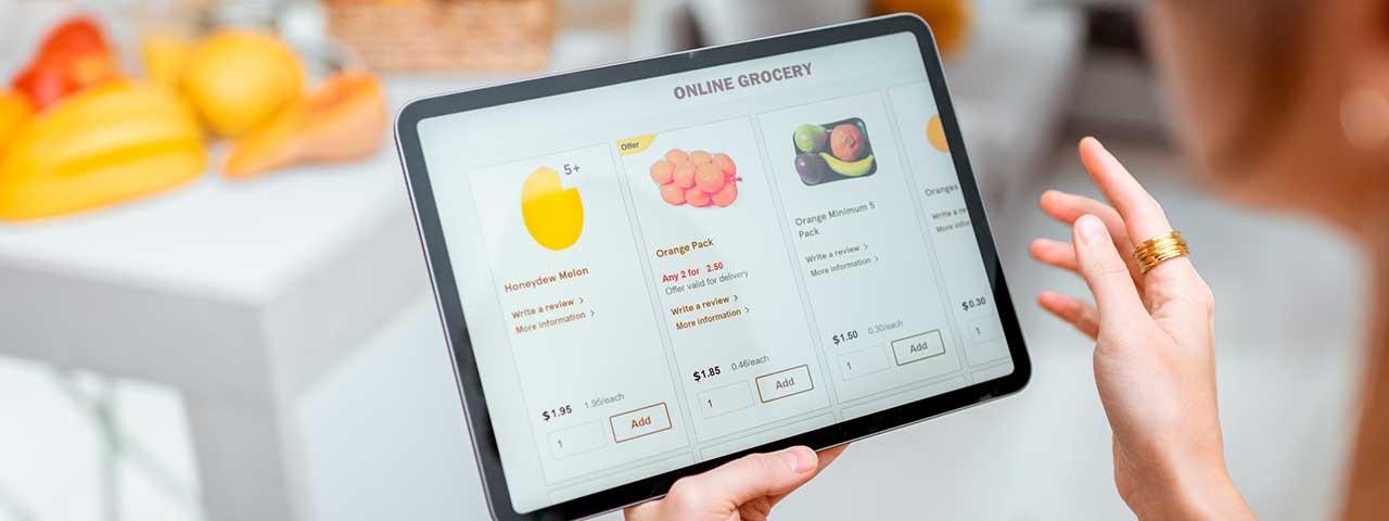 PixoLabo - Emerging E-Commerce Trends: Online Grocery Shopping