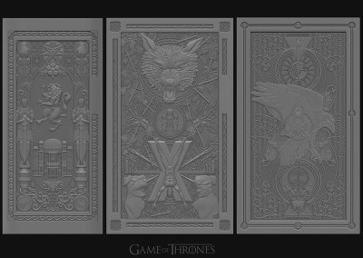 Game of Thrones – 扉 by Keyz78