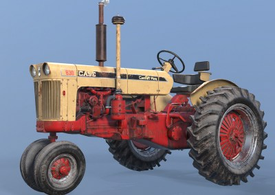 CASE Tractor 830 by 岸田 保