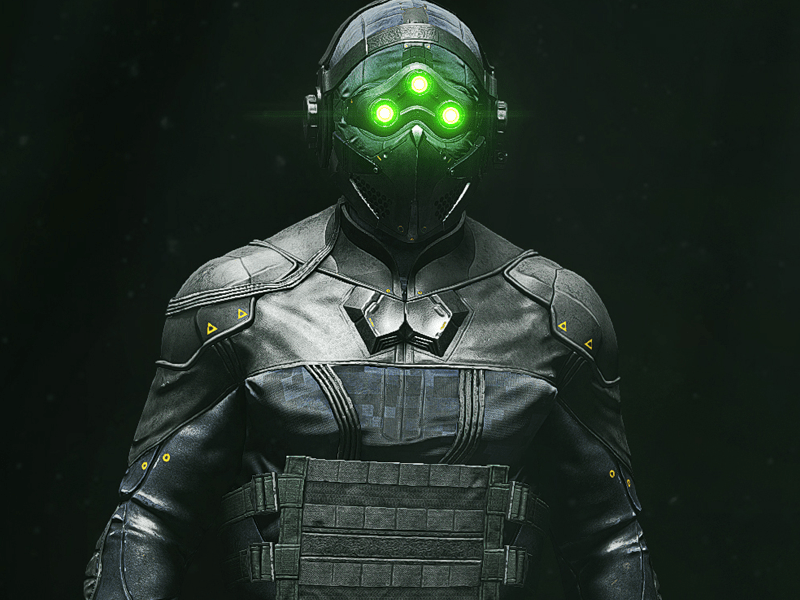 Tom Clancy's Ghost Recon Breakpoint – Sam Fisher by Loic Sprimont