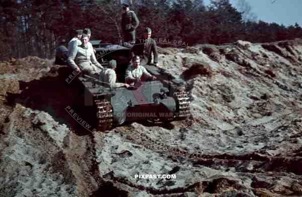 Panzerkampfwagen I Panzer 1 Tank Turretless Training