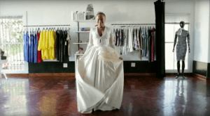Standard Bank - Wedding Dress