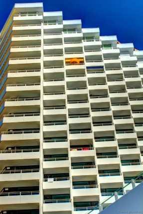 Das Hotel Neptun.