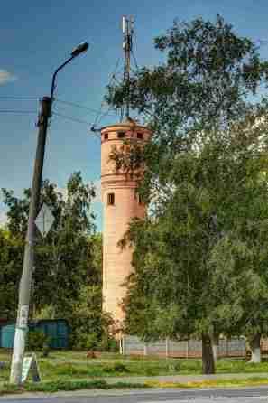 Ein Wasserturm