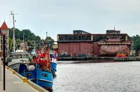 am Hafenbecken