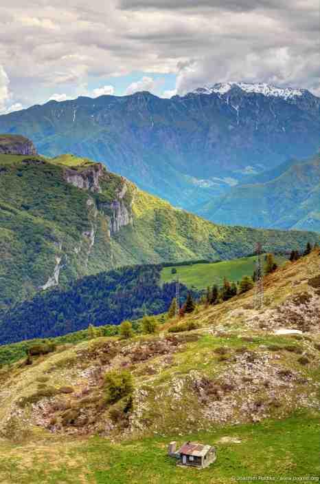 Blick vom Monte Baldo, Italien (5)