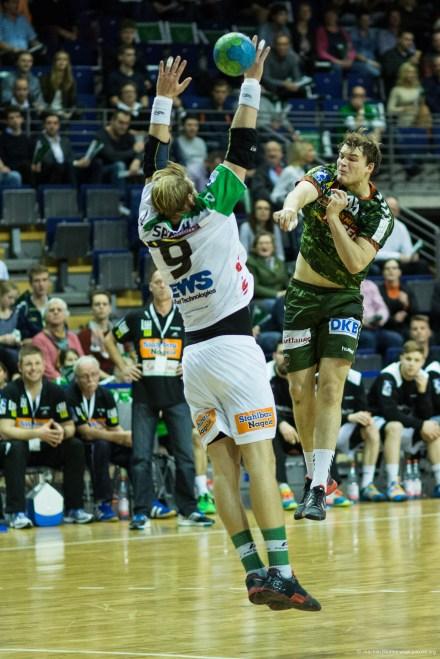 DKB Bundesliga Handball 23.12.2014 Füchse Berlin - Frisch Auf! Göppingen ,J.Radtke,www.pixxxel (41)