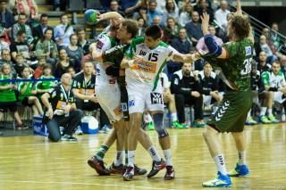 DKB Bundesliga Handball 23.12.2014 Füchse Berlin - Frisch Auf! Göppingen ,J.Radtke,www.pixxxel (64)