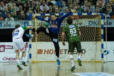 DKB Bundesliga Handball 23.12.2014 Füchse Berlin - Frisch Auf! Göppingen ,J.Radtke,www.pixxxel (71)
