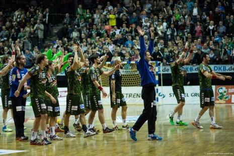 DKB Bundesliga Handball 23.12.2014 Füchse Berlin - Frisch Auf! Göppingen ,J.Radtke,www.pixxxel (94)