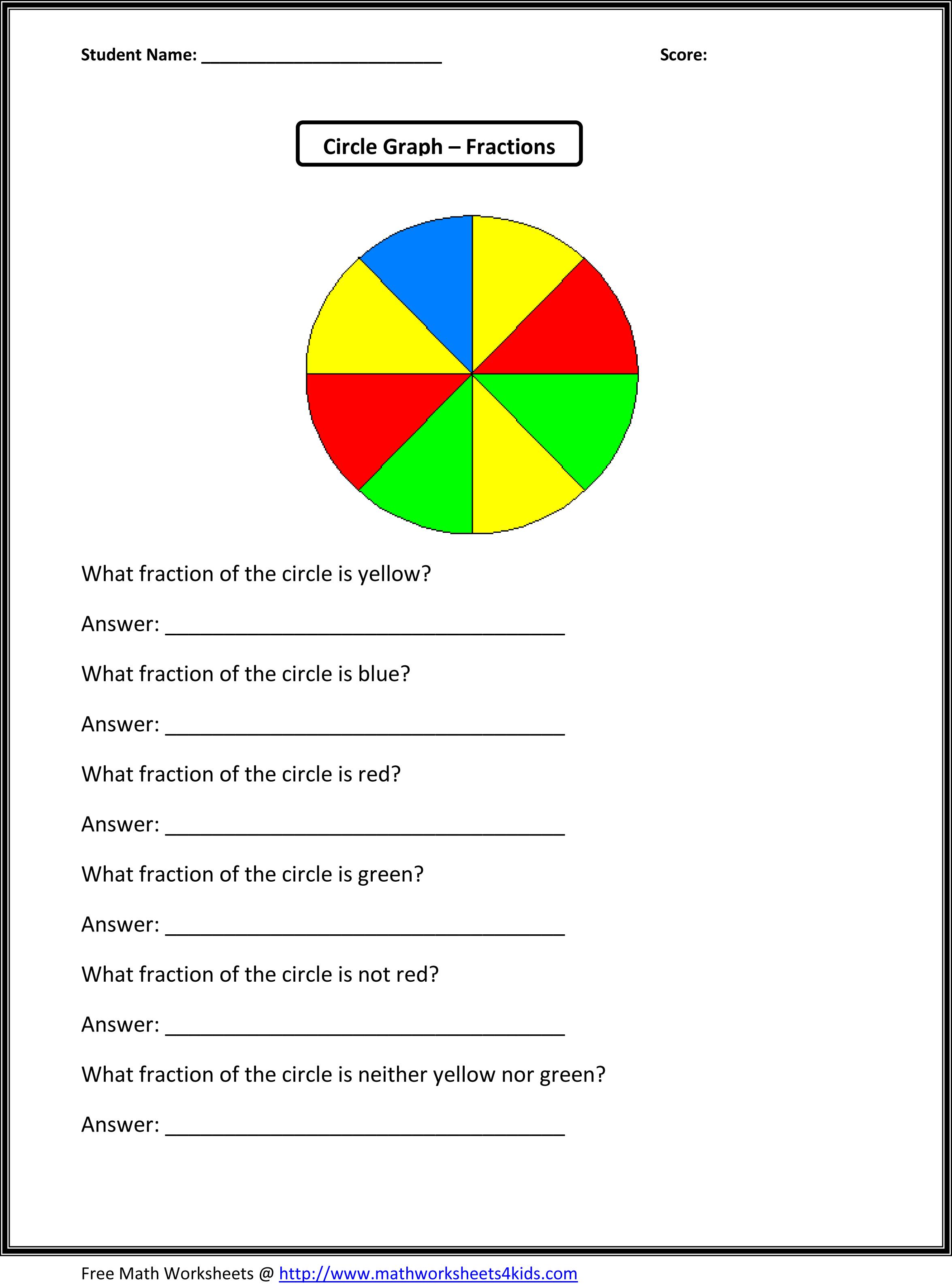 3rd Grade Math Worksheets Graphs
