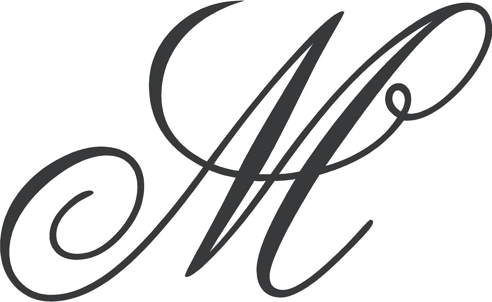 Fancy Letter M Fonts