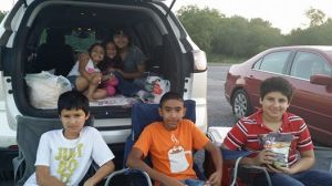 Our kiddos at Wes-Mer Drive-In