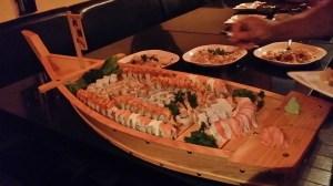 Sushi boat at Kohnami!