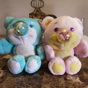Twinkle and FlyBye Nosy Bears