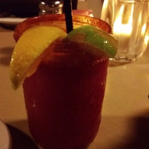 A prickly-pear Margarita from Republic of the Rio Grande