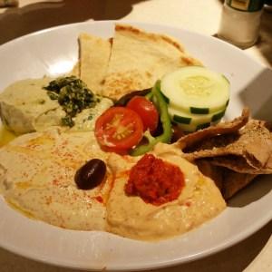 Hummus Trio, my fave!