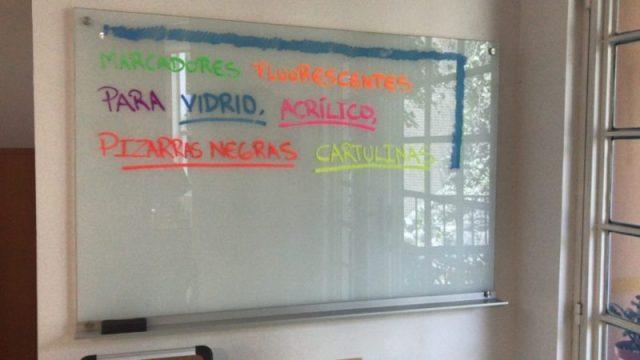 pizarras de vidrio en Ecuador