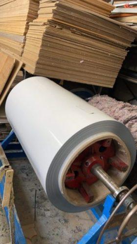 Láminas de acero blanco para fabricar pizarras