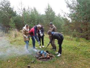 В районе работали волонтёры - экологи