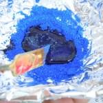 Mezclar aceite y pigmento
