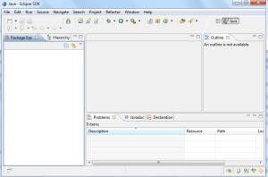 Workbench_Eclipse_vacio