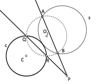 Analisis problema fundamental de tangencias