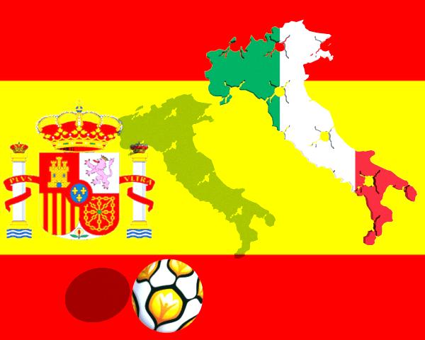 España Italia final UEFA EURO 2012