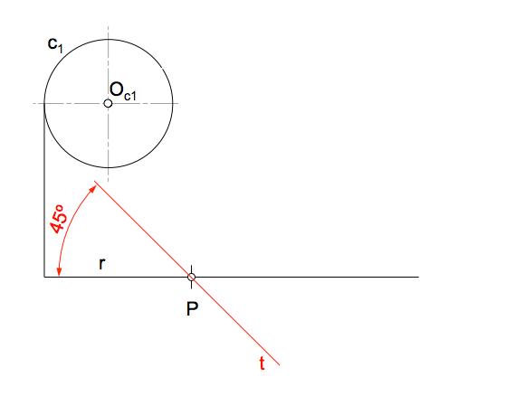 Enunciado modificado con condiciones de isogonalidad