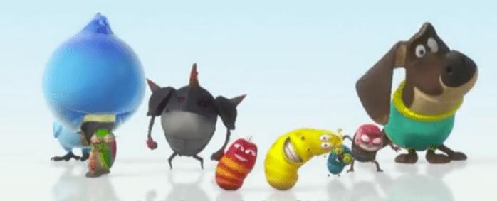 personajes larva