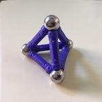 Tetraedros en Blender