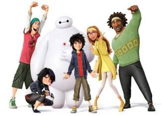 """""""Big Hero 6"""" es la decepcionante película de Disney de 2014"""