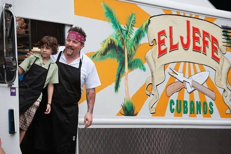 #Chef es la historia de un chef que rehace su vida tras dejar su trabajo