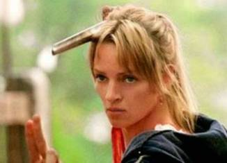 "Uma Thurman en ""Kill Bill"""