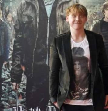 Rupert Grint en la premiere de Harry Potter en Madrid