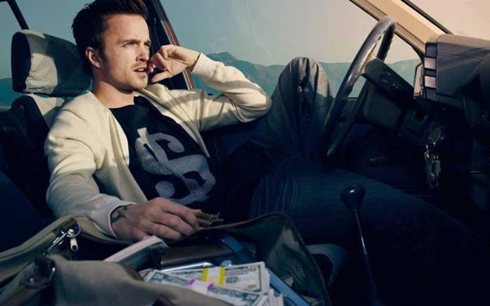 Jesse Pinkman en Breaking Bad, Aaron Paul, protagoniza Need for Speed