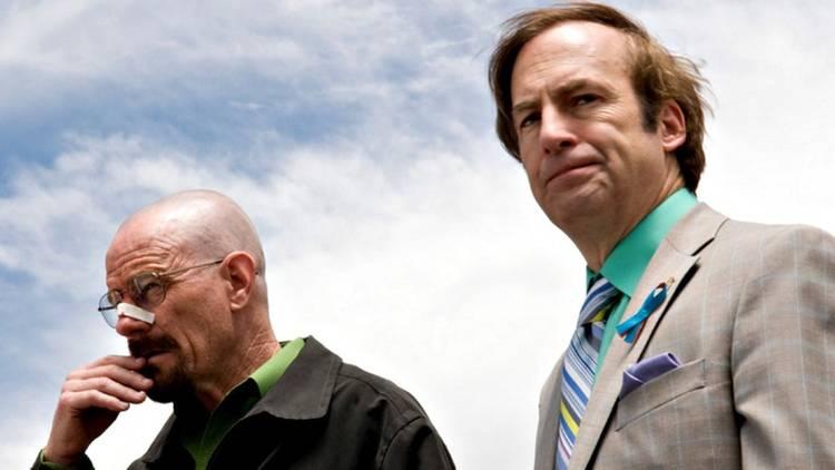 Bryan Cranston y Bob Odenkirk en