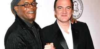 Samuel L. Jackson con Quentin Tarantino