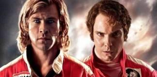 """Rush"" está protagonizada por Chris Hemsworth y Daniel Brühl"